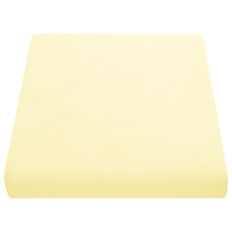 Kimlor Jersey Knit Sheet Set - Queen in Lemonade