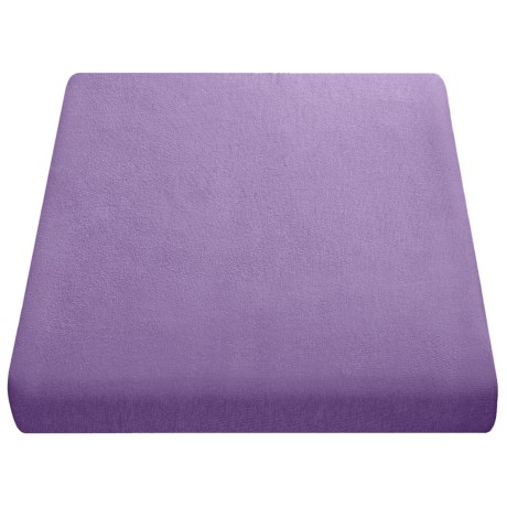 Kimlor Jersey Knit Sheet Set - Queen in Violet