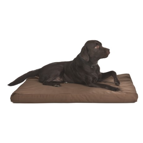 "Kimlor Memory-Foam Dog Bed - 29x43"" in Brown"