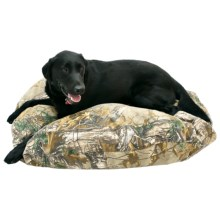 "Kimlor Premium Camo Dog Bed - 40"" Round in Xtra - Closeouts"