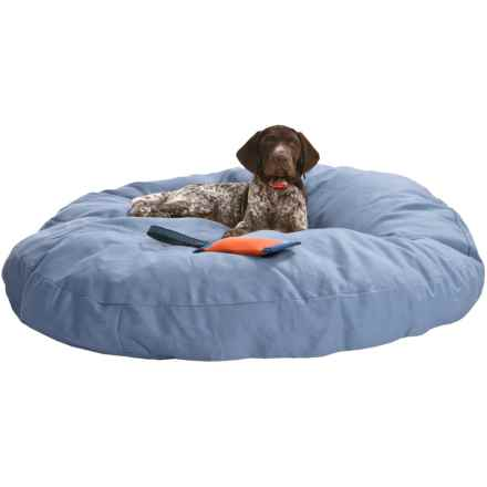 "Kimlor Premium Quality Dog Bed - 40"" Round in Blue - Overstock"