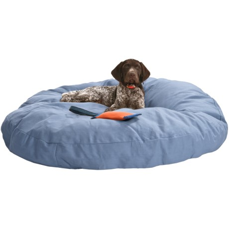 "Kimlor Premium Quality Dog Bed - 40"" Round in Blue"