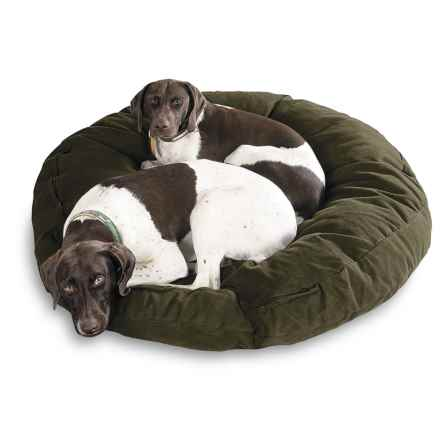 "Kimlor Premium Quality Dog Bed - 40"" Round in Green - Overstock"