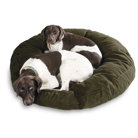 "Kimlor Premium Quality Dog Bed - 40"" Round in Green"
