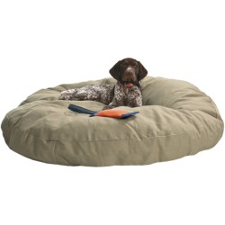"Kimlor Premium Quality Dog Bed - 40"" Round in Olive"