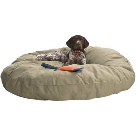 "Kimlor Premium Quality Dog Bed - 40"" Round in Tan - Overstock"