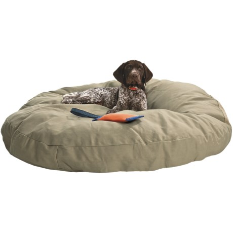 "Kimlor Premium Quality Dog Bed - 40"" Round in Tan"