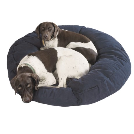 "Kimlor Round Premium Quality Dog Bed - 40"" in Olive"