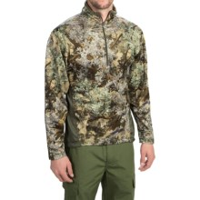 Kings Camo KC1 Fleece Shirt - Zip Neck, Long Sleeve (For Men) in Desert Shadow - Closeouts