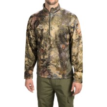 Kings Camo KC1 Fleece Shirt - Zip Neck, Long Sleeve (For Men) in Mountain Shadow - Closeouts