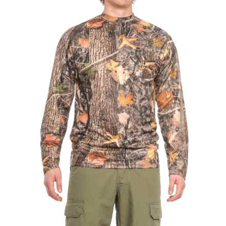 Kings Camo KC1 Shirt - Crew Neck, Long Sleeve (For Men) in Woodland Shadow - Closeouts