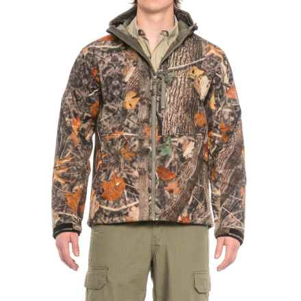 Kings Camo KC1 Soft Shell Hooded Jacket (For Men) in Woodland Shadow - Closeouts