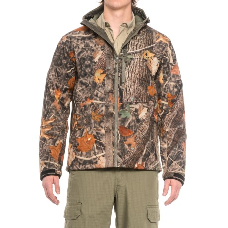 Kings Camo KC1 Soft Shell Hooded Jacket (For Men) in Woodland Shadow