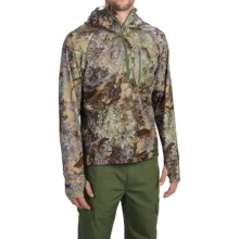 Kings Camo XKG Hightop Hoodie - Zip Neck (For Men) in Desert Shadow - Closeouts