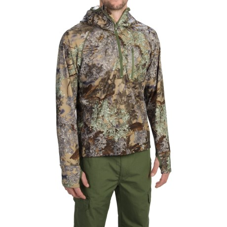 Kings Camo XKG Hightop Hoodie Zip Neck (For Men)