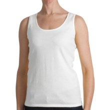 Kinross Cotton Tank Top - 2-Ply, 14-Gauge (For Women) in Canvas - Closeouts