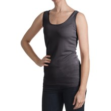 Kinross Lightweight Luxe Tank Top - Modal-Cashmere (For Women) in Damask - Closeouts