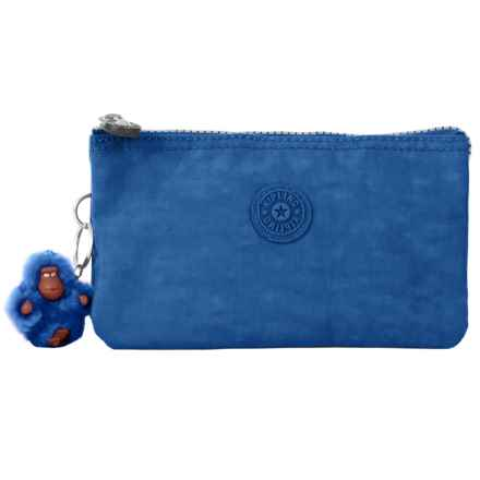 Kipling Large Creativity Cosmetic Pouch (For Women) in Beloved Blue - Closeouts