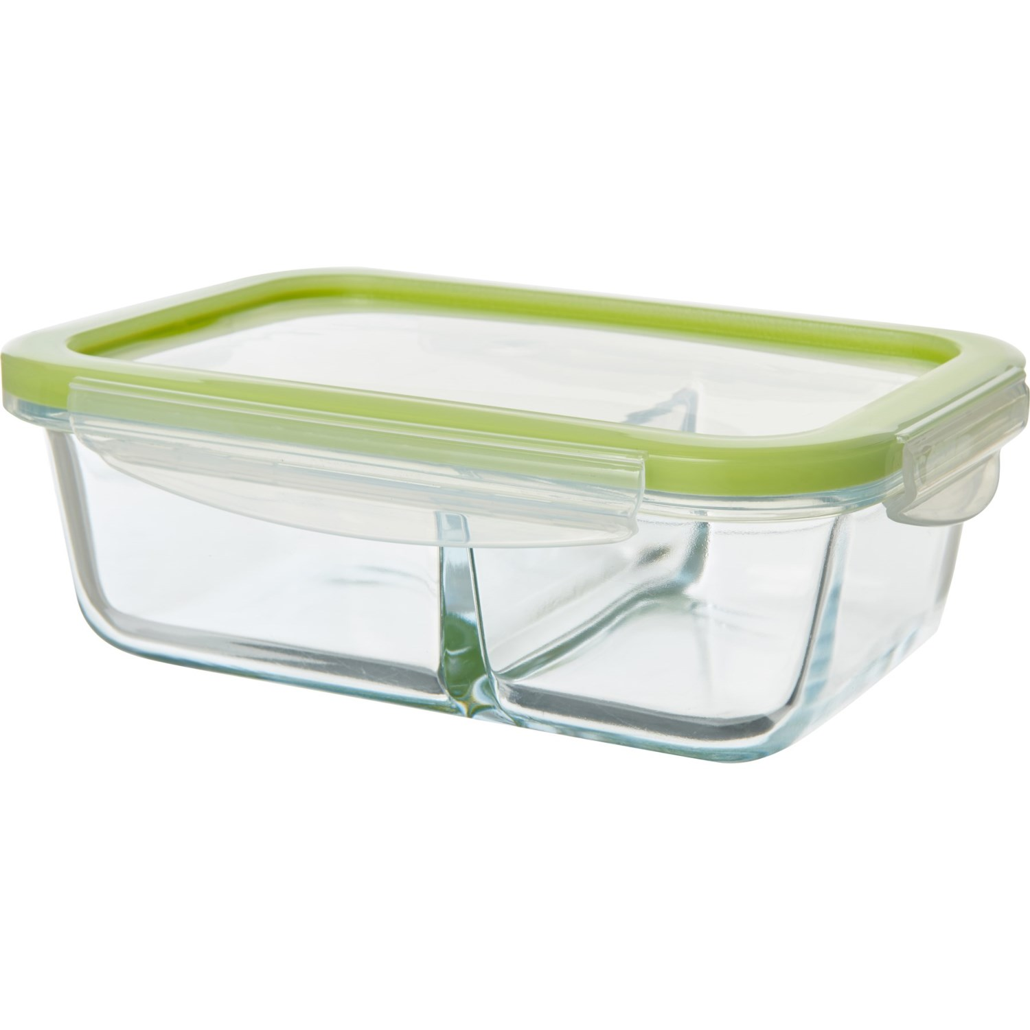 b0c797e03454 Kitchen Details Clip-Lock Rectangle Glass Food Storage Container ...