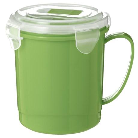 Kitchen Details Microwave Soup Mug - 24 oz., BPA-Free in Lime