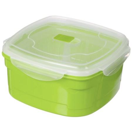 Kitchen Details Microwave Steamer - 85 oz., BPA-Free in Green