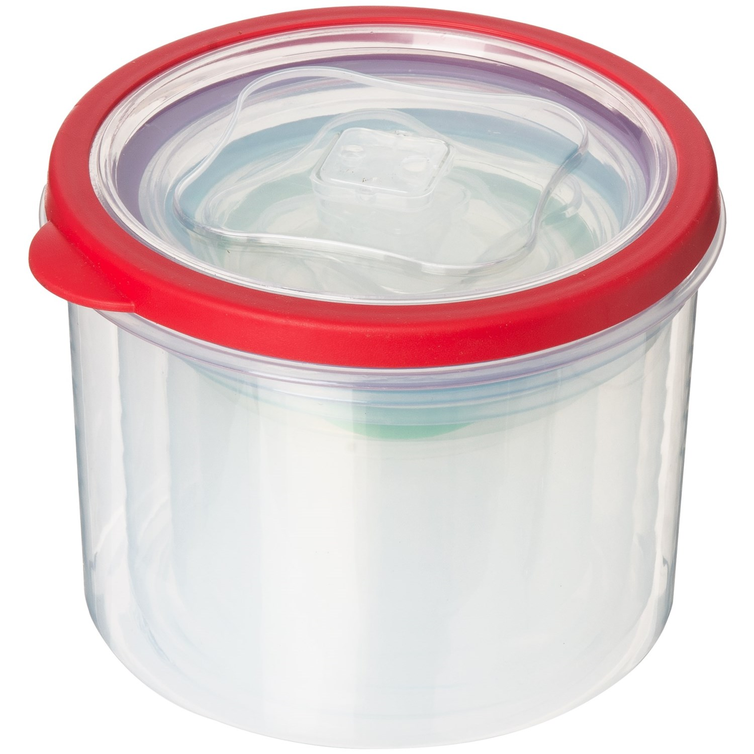 Kitchen Details Rainbow Round Clear Food Storage Containers 10