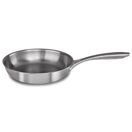 Image of KitchenAid 5-Ply Copper Core Skillet - 10?, Stainless Steel