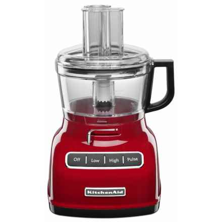 7-Cup Food Processor in Red - Closeouts