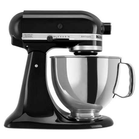 KitchenAid Artisan Series 5 qt. Mixer - Black Onyx in Onyx Black