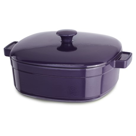 KitchenAid Streamline Cast Iron Casserole Dish - 6 Quart