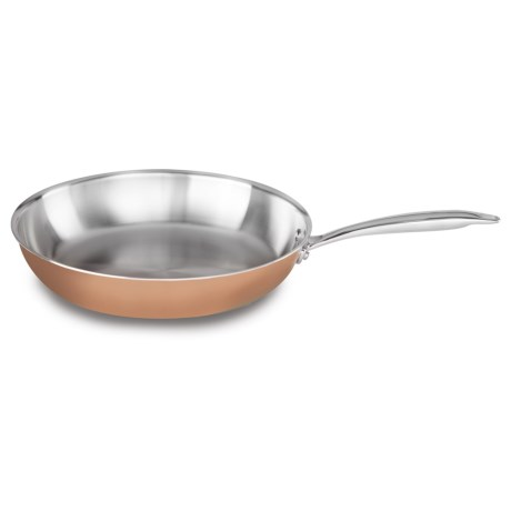 KitchenAid Tri-Ply Copper Core Skillet - 12? Stainless Steel