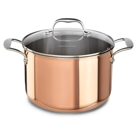 KitchenAid Tri-Ply Copper Stockpot - 8 qt.