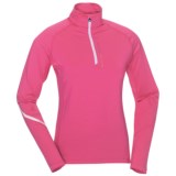 KJUS Balmoral Zip Neck Pullover - Long Sleeve (For Women)