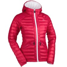 KJUS Conversion Down Jacket - 850 Fill Power (For Women) in Barberry/White - Closeouts