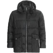 KJUS Corso Como Down Jacket - 650 Fill Power (For Men) in Dark Grey Melange - Closeouts