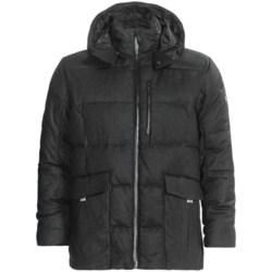 KJUS Corso Como Down Jacket - 650 Fill Power (For Men) in Grey Melange