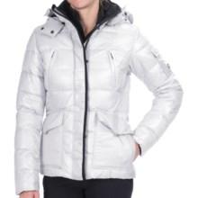 KJUS Cosmopolitan Down Ski Jacket - 600 Fill Power (For Women) in White - Closeouts