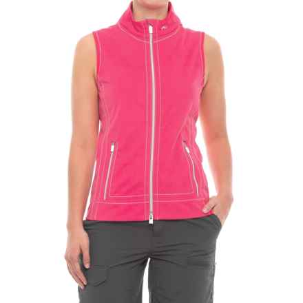 KJUS Drew Soft Shell Vest (For Women) in Perth Pink - Closeouts