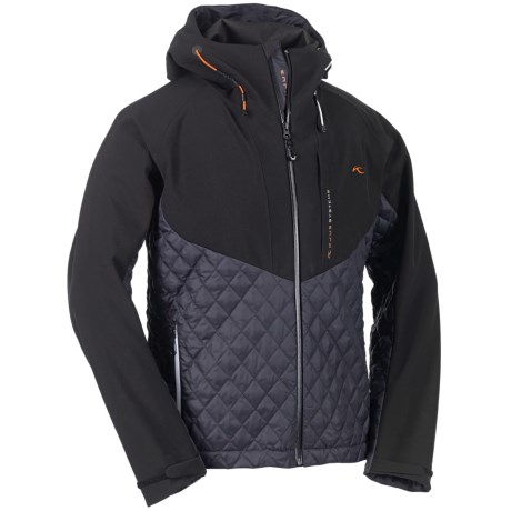 KJUS Equilibrium Down Soft Shell Jacket - 650 Fill Power (For Men) in Black