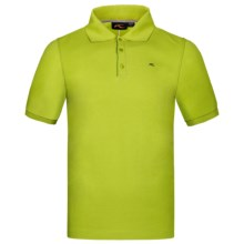 KJUS Esslemont Polo Shirt - Short Sleeve (For Men) in Macaw Green - Closeouts