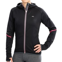KJUS Galaxy Stretch Jacket (For Women) in Black/Barberry/Fiery Coral - Closeouts