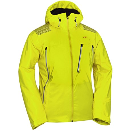 KJUS Helium Down Jacket - 650 Fill Power (For Men) in Sulpher