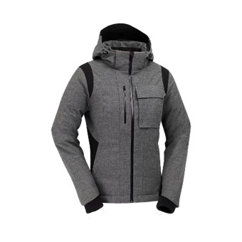 KJUS Pride Wool-Cashmere Down Jacket - Stormproof (For Women) in Grey Melange