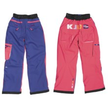 KJUS Ramp Snow Pants - Insulated (For Girls) in Orient Blue/Azalea/White - Closeouts
