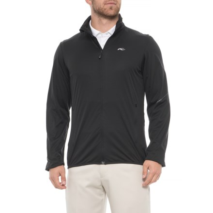 e8b8aec1316 KJUS Seve Windbreaker Jacket (For Men) in Black - Closeouts