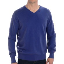 KJUS V-Neck Sweater - Wool (For Men) in Blue Moon - Closeouts