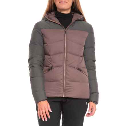 KJUS Vals Down Jacket - Insulated (For Women) in Dusty Lilac/Blue Melange - Closeouts