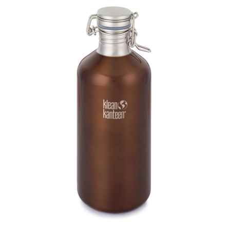 Klean Kanteen Growler Bottle - 64 fl.oz., Stainless Steel in Dark Amber - Closeouts