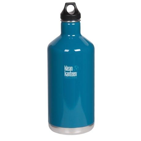 Klean Kanteen Vacuum-Insulated Classic Water Bottle - 64 fl. oz.