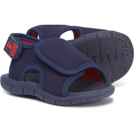 fc4ac78ce KLIN Touch-Fasten Sandals (For Boys) in Navy